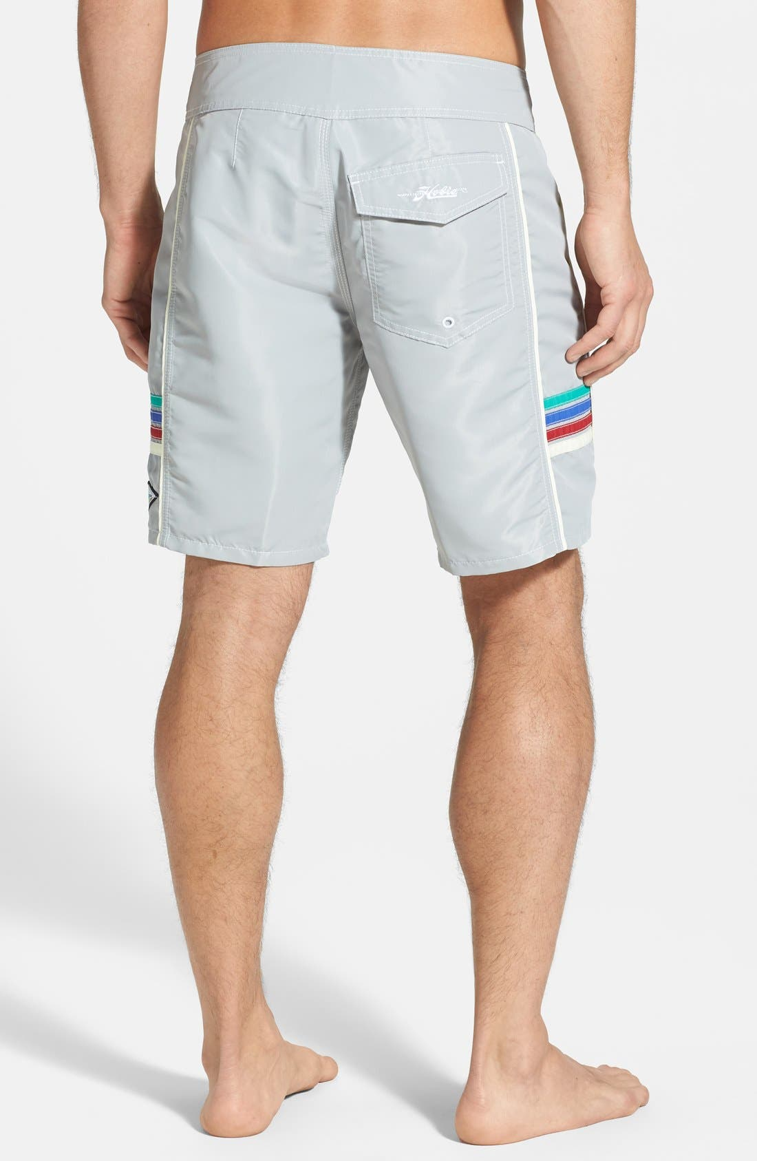 Alternate Image 2  - Hobie by Hurley 'Solid State' Board Shorts