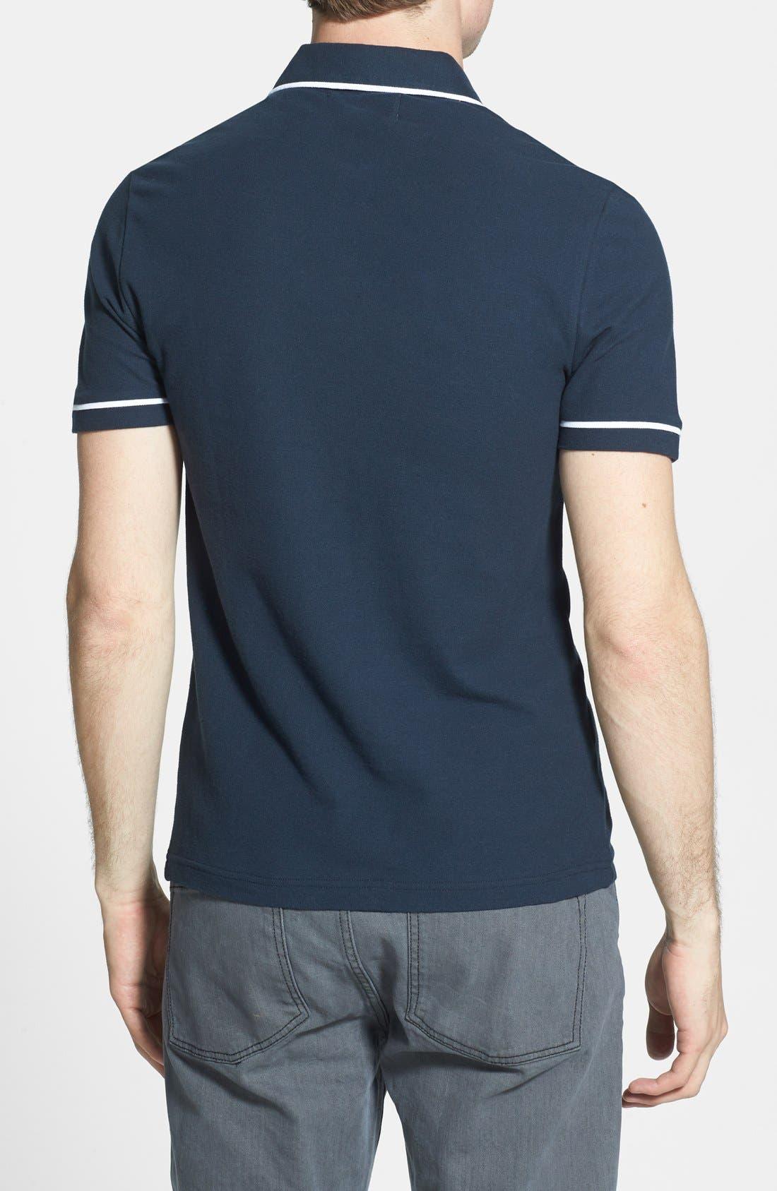 dd9512e1 Adidas Originals Argyle Polo T Shirt White - Nils Stucki Kieferorthopäde