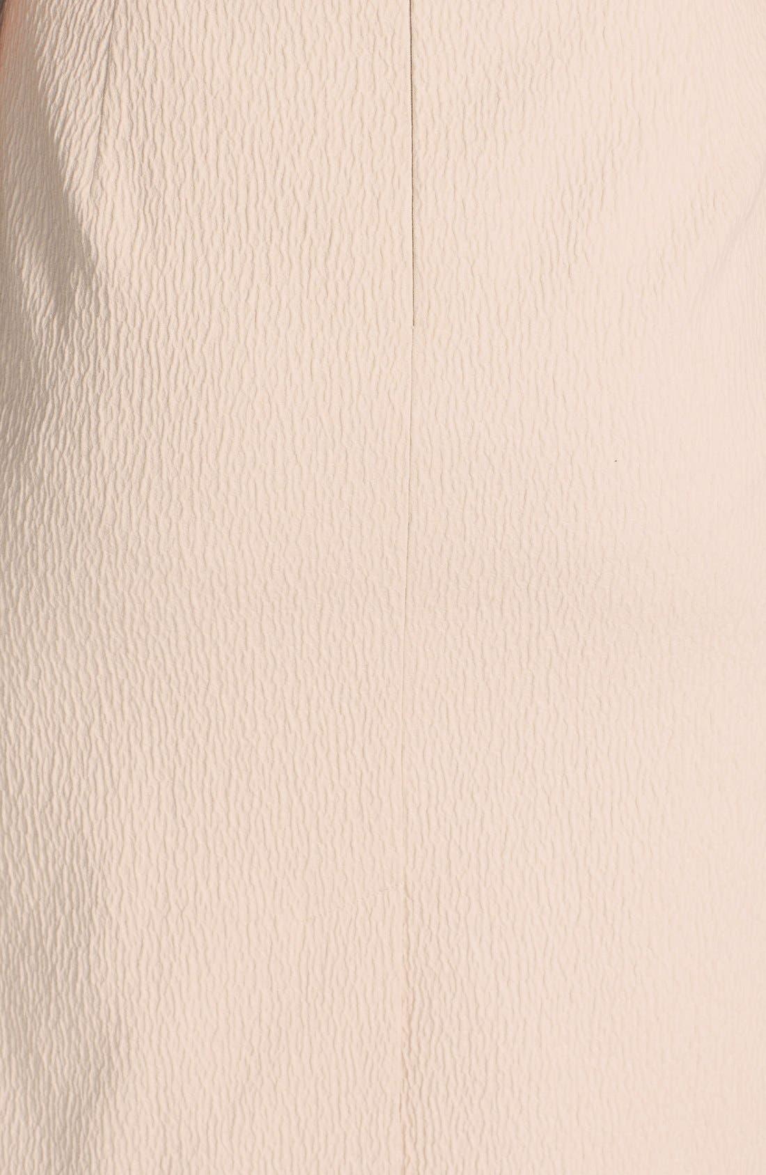 Alternate Image 3  - Classiques Entier® 'Reid' Textured Cotton Blend & Ponte Skirt