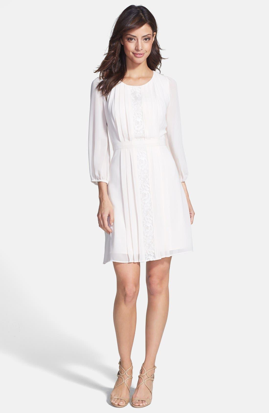 Alternate Image 3  - Jessica Simpson Chiffon Blouson Dress