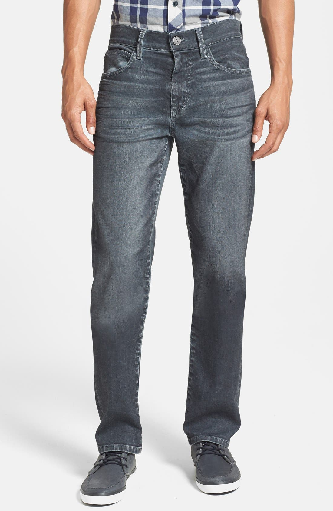 Alternate Image 1 Selected - Joe's 'Brixton' Slim Fit Jeans (Steel)