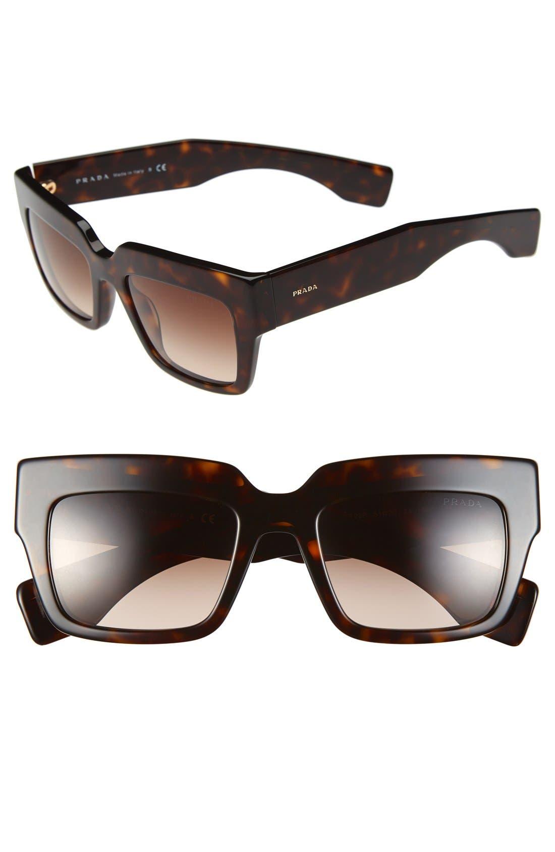 Alternate Image 1 Selected - Prada 51mm Sunglasses