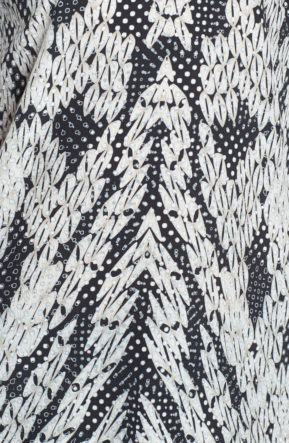Alternate Image 3  - Diane von Furstenberg 'Angela' Print Silk Top