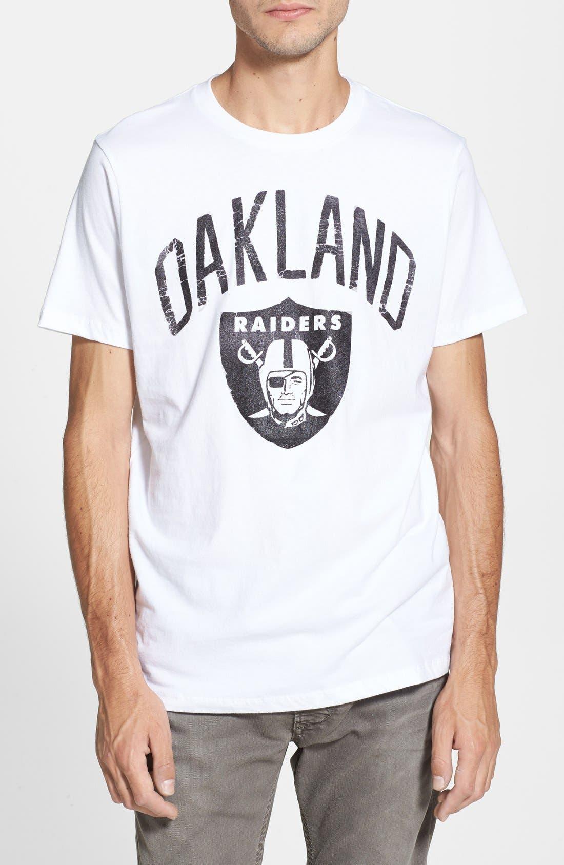 Alternate Image 1 Selected - Junk Food 'Oakland Raiders' Graphic T-Shirt