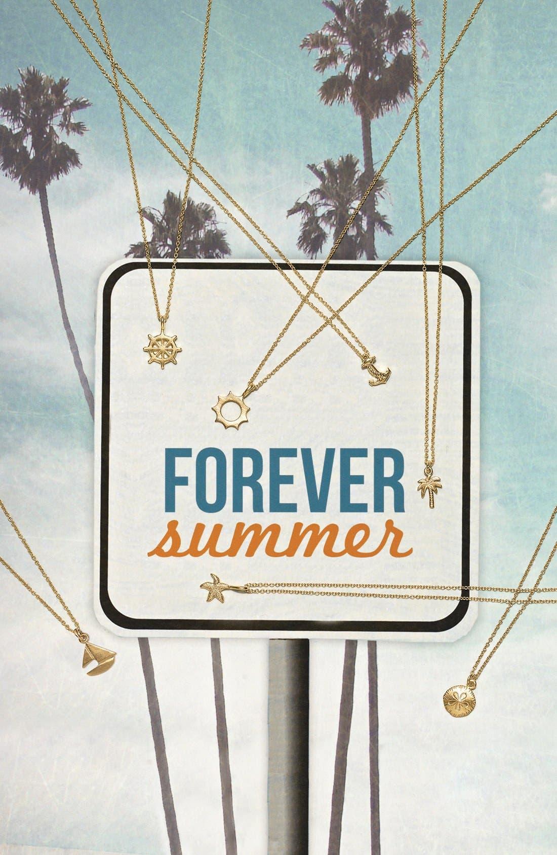 Alternate Image 3  - Dogeared 'Forever Summer' Pendant Necklace