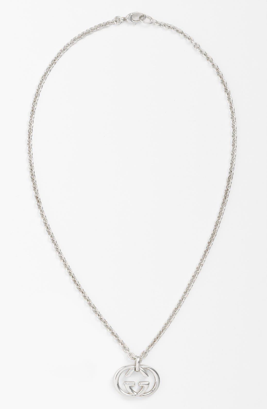 'Silver Britt' Necklace,                         Main,                         color, Silver