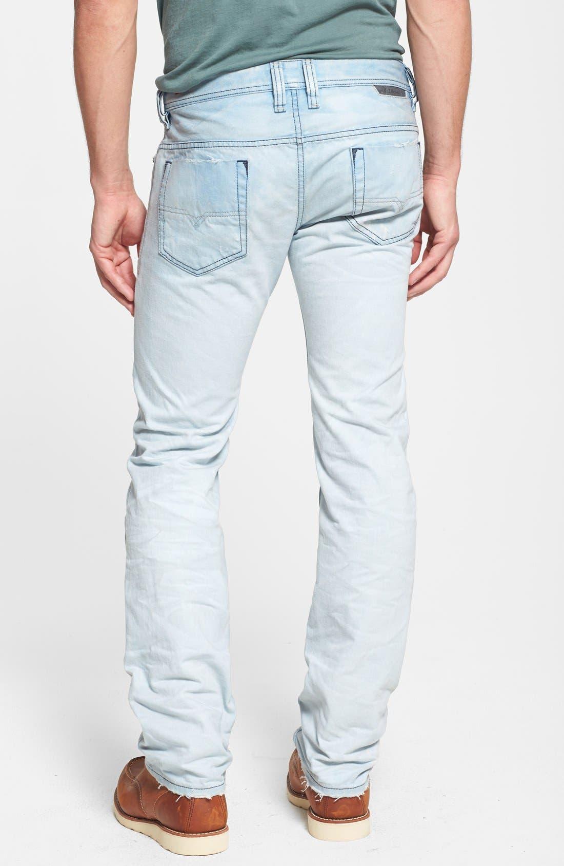 Alternate Image 2  - DIESEL® 'Safado' Slim Fit Jeans (0831A)