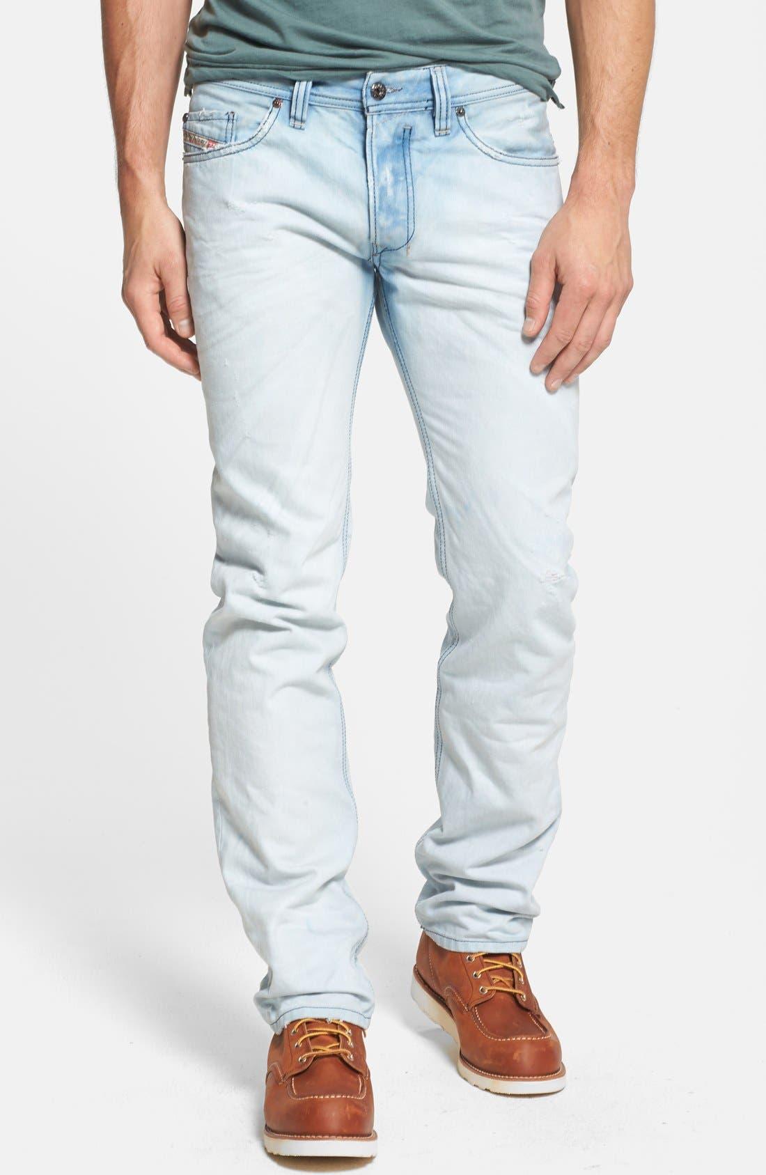 Alternate Image 1 Selected - DIESEL® 'Safado' Slim Fit Jeans (0831A)