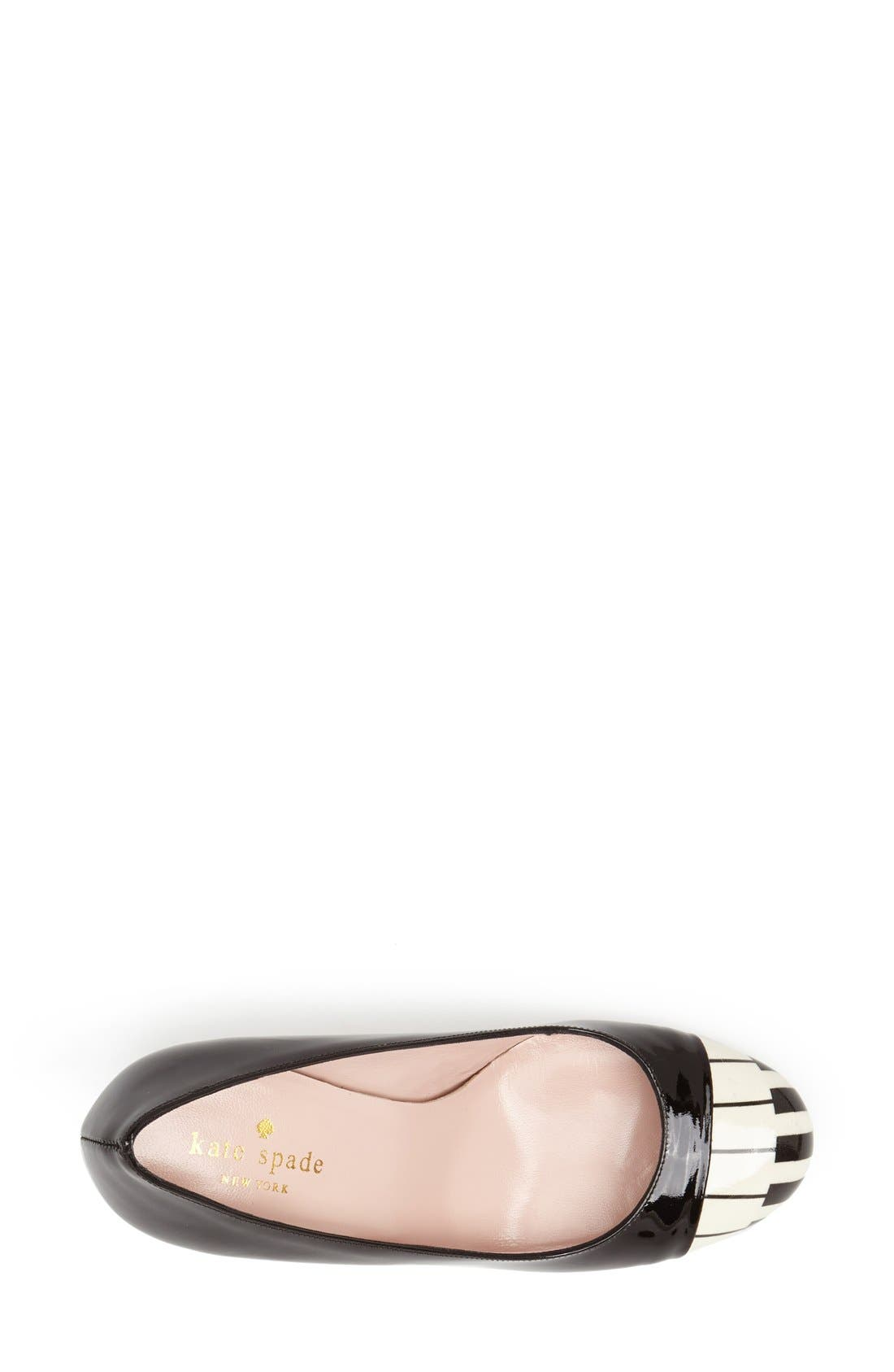 Alternate Image 3  - kate spade new york 'keys' pump (Women)