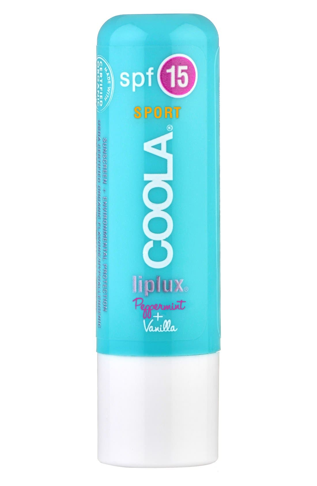 COOLA® Suncare Liplux Vanilla Peppermint Sport Lip Treatment SPF 15