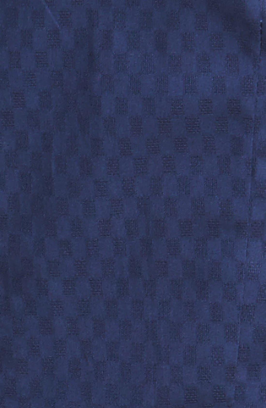 Alternate Image 4  - Cynthia Steffe 'Jett' Embellished Tiered Jacquard Midi Dress