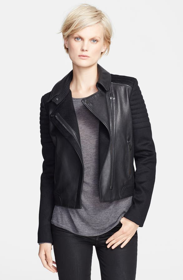 Vince Quilted Contrast Leather Jacket | Nordstrom : vince quilted jacket - Adamdwight.com