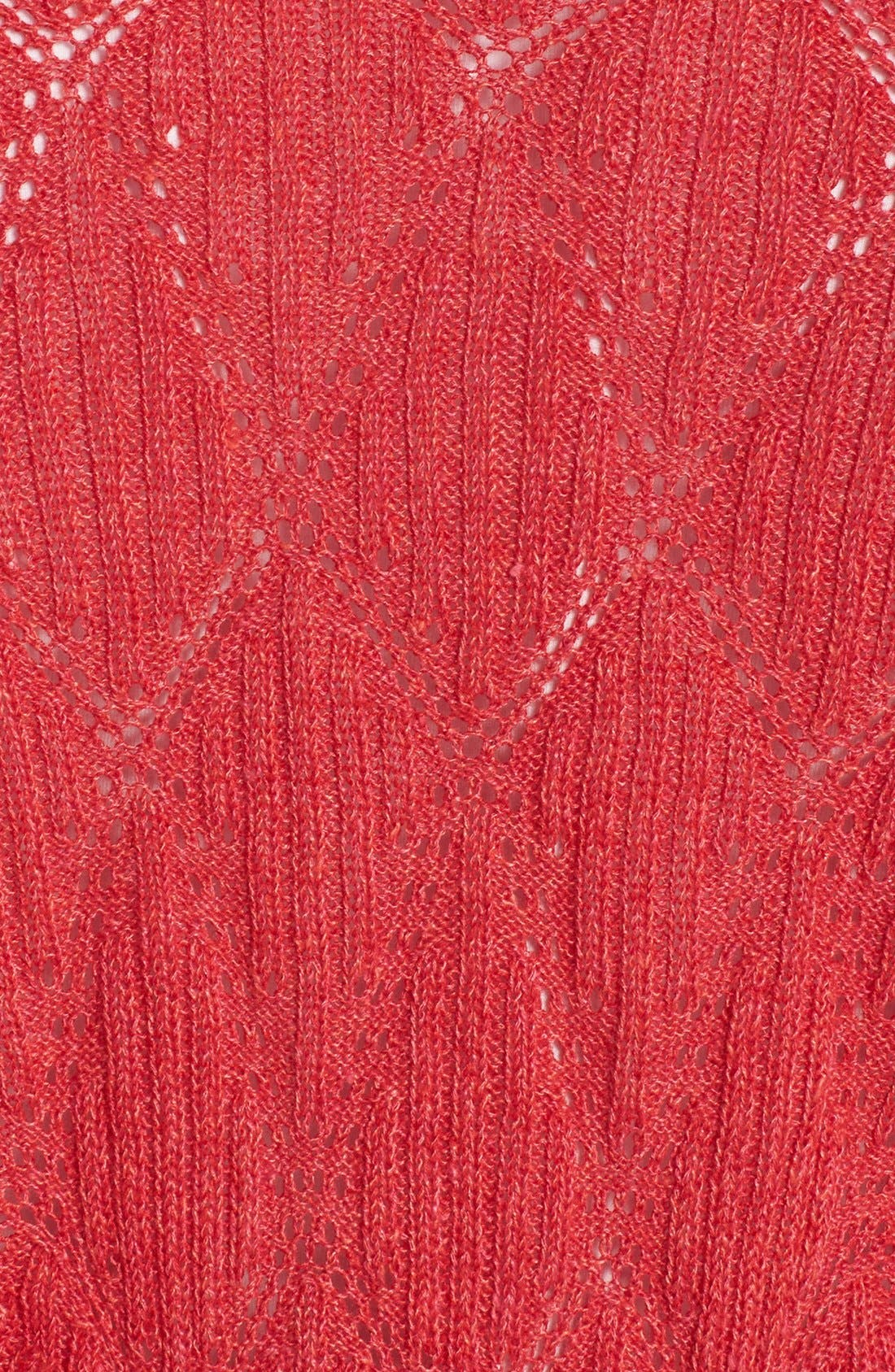 Alternate Image 3  - NIC+ZOE 'Cascading Diamonds' Cardigan (Plus Size)