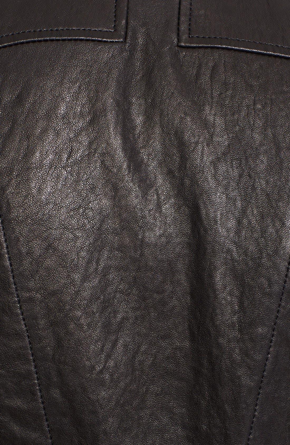 Alternate Image 3  - Truth & Pride 'Studied' Leather Vest.