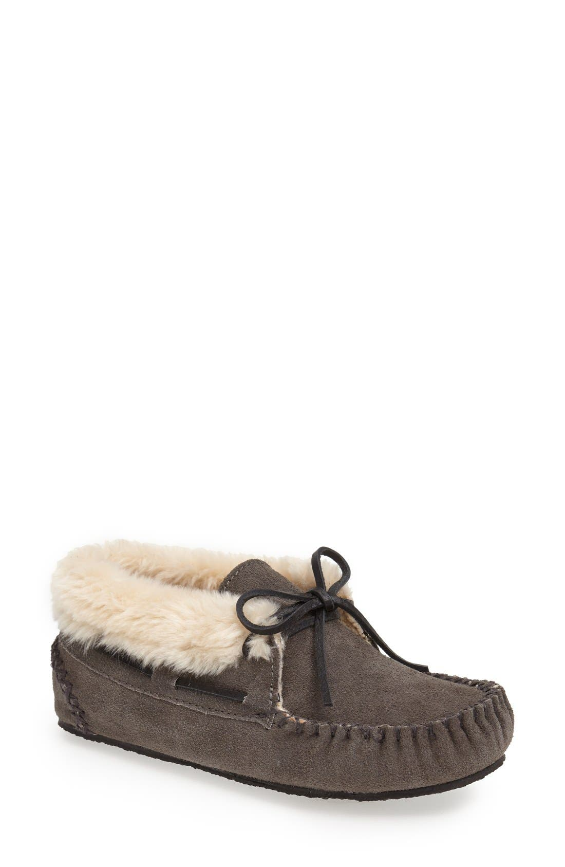 Main Image - Minnetonka 'Chrissy' Slipper Bootie (Women)