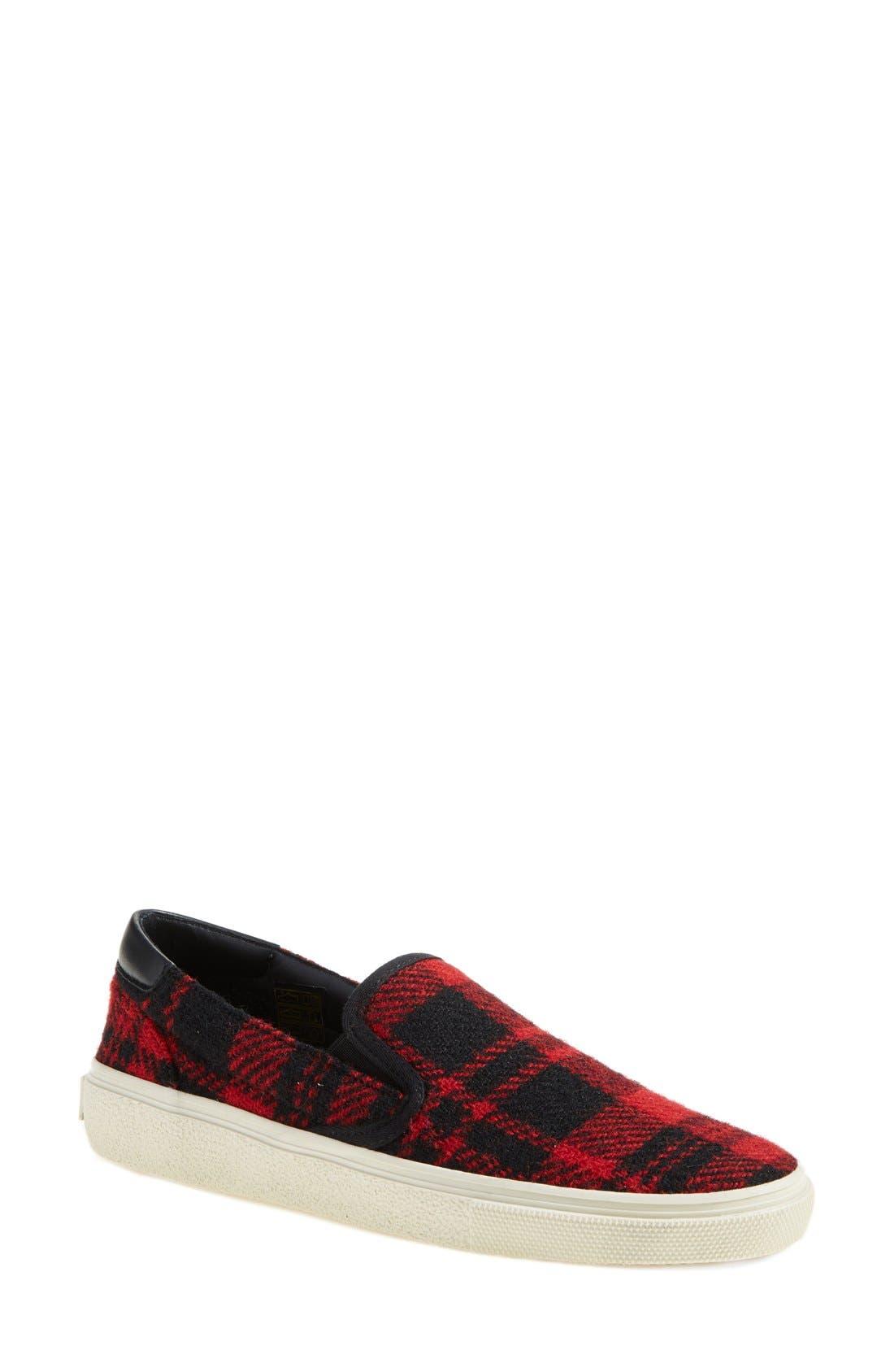 Alternate Image 1 Selected - Saint Laurent 'Skate' Slip-On Sneaker (Women)