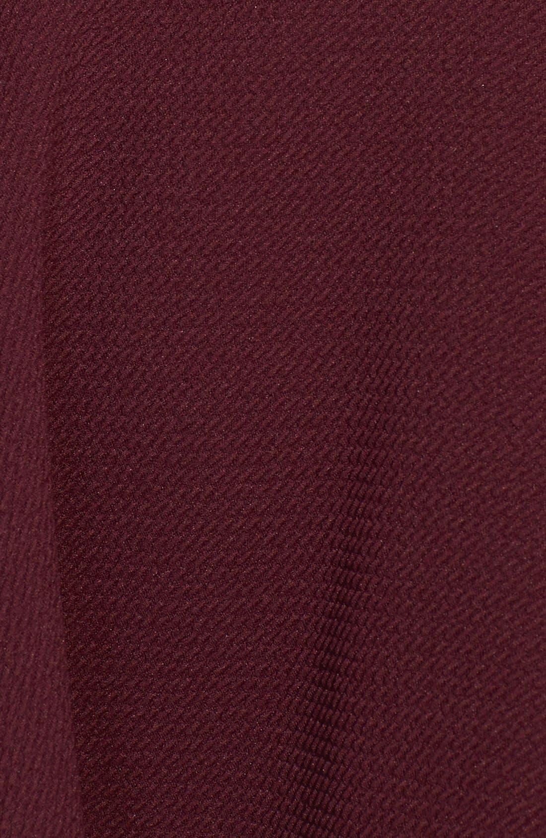 Alternate Image 3  - Lush Textured Skater Skirt