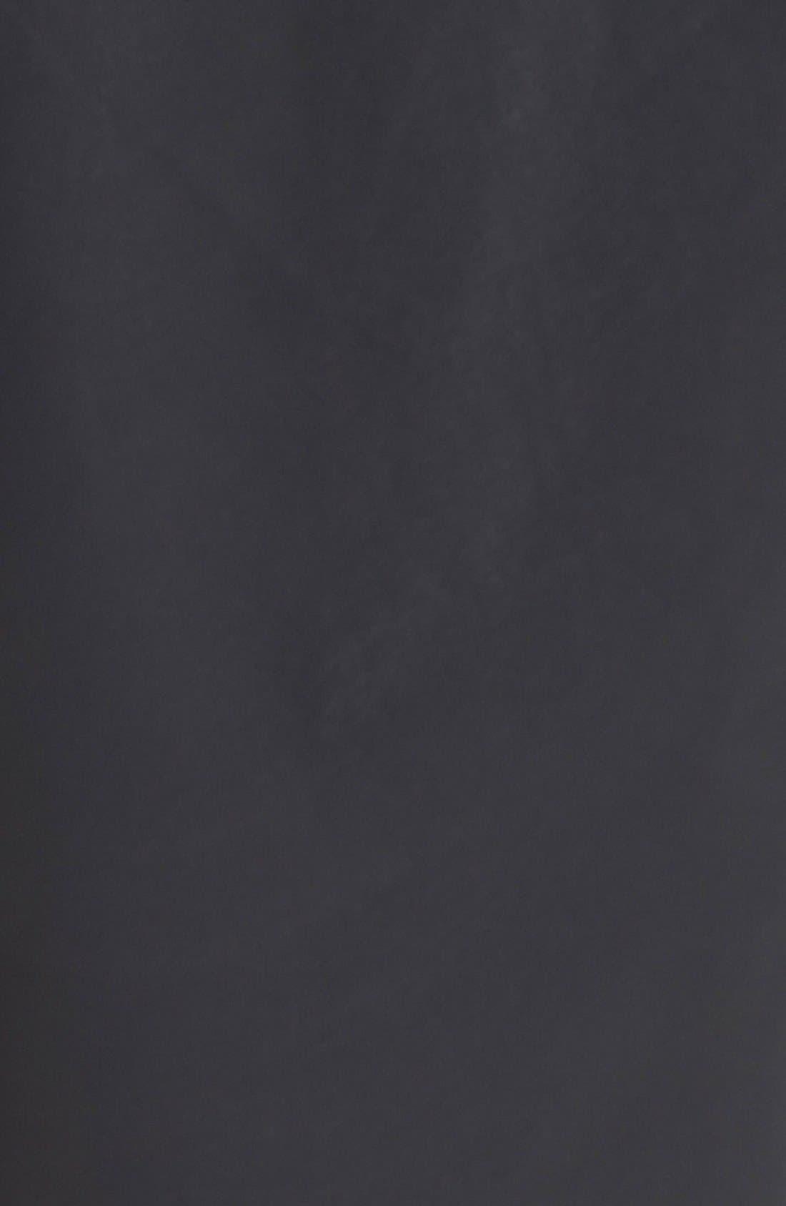 Alternate Image 3  - Pink Tartan Faux Leather Wide Leg Crop Pants
