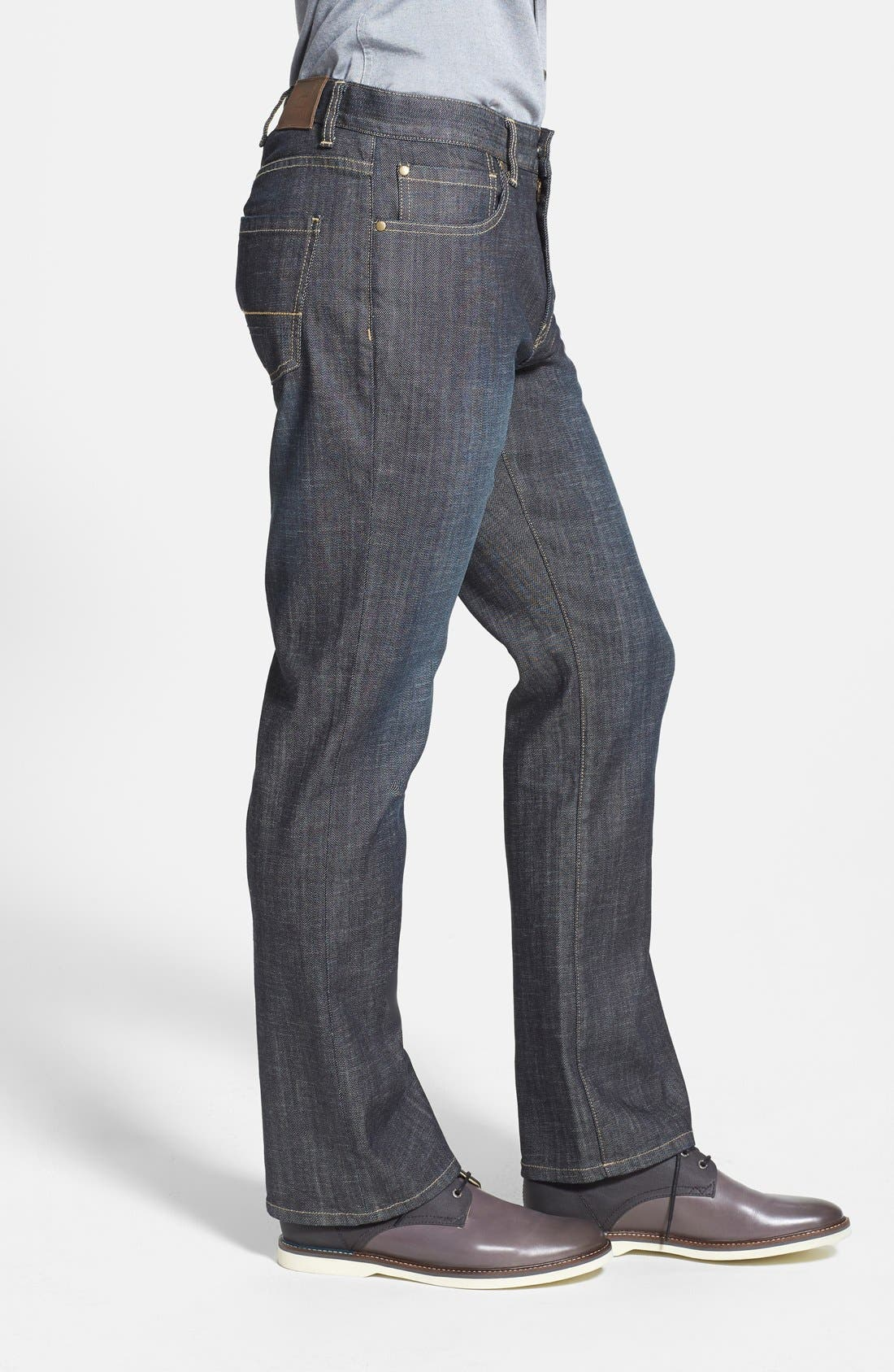 Alternate Image 3  - Cutter & Buck 'West Mercer' Straight Leg Jeans (Midnight)