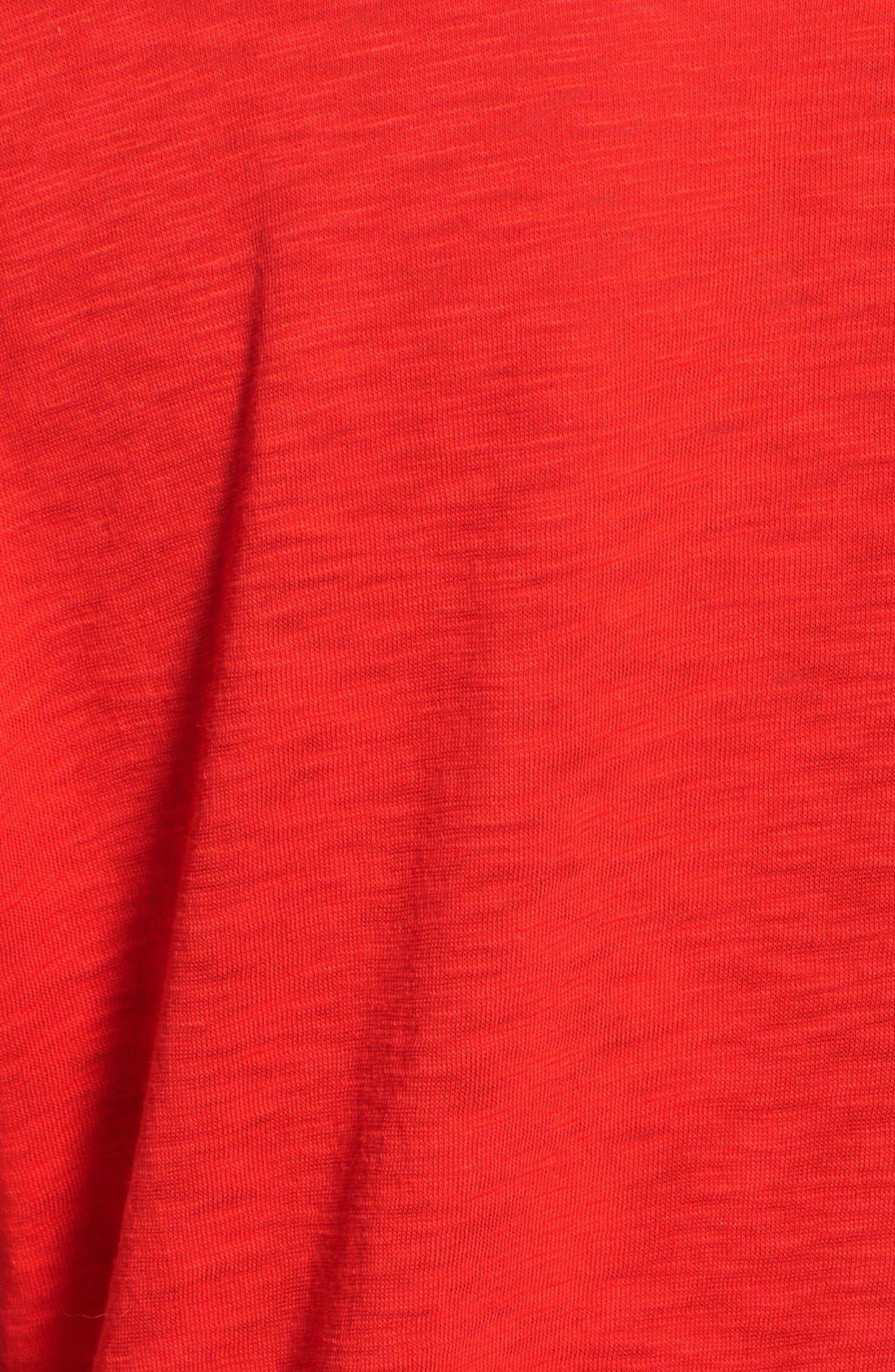 Alternate Image 3  - Stateside Slub Knit Supima® Cotton Tee