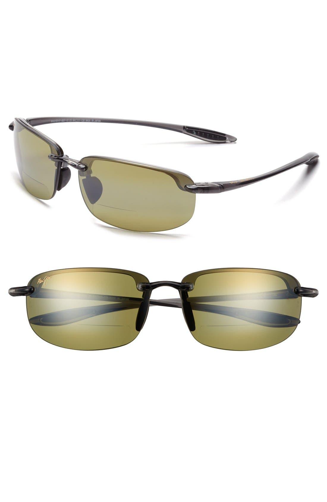 Maui Jim Ho'okipa 64mm PolarizedPlus2® Rimless Reader Sunglasses