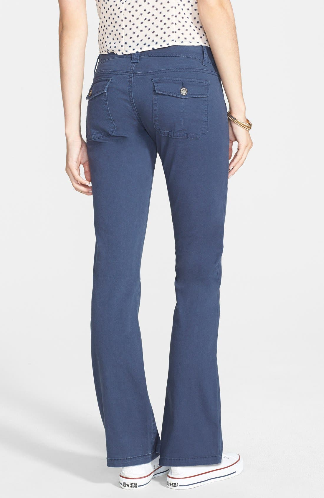 Alternate Image 2  - French Star 'Dandy Porkchop' Bootcut Trousers (Juniors)