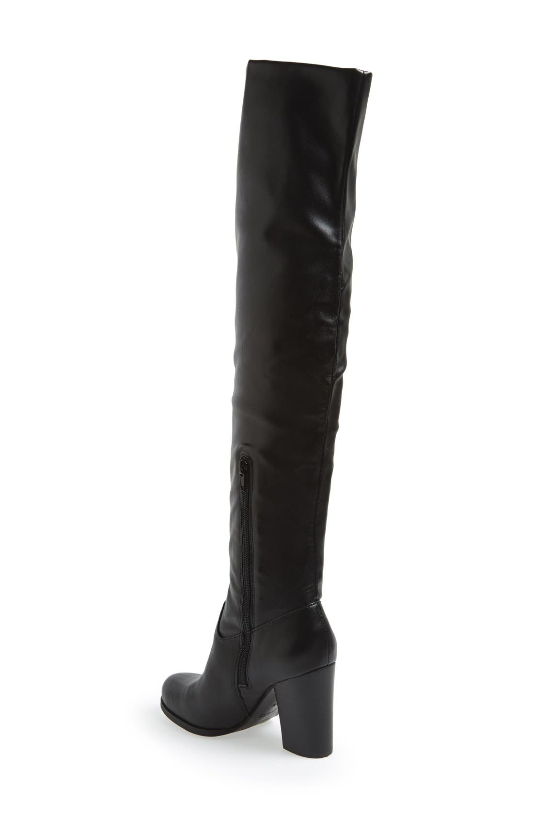 Alternate Image 2  - GUESS 'Dandra' Foldable Over the Knee Boot (Women)