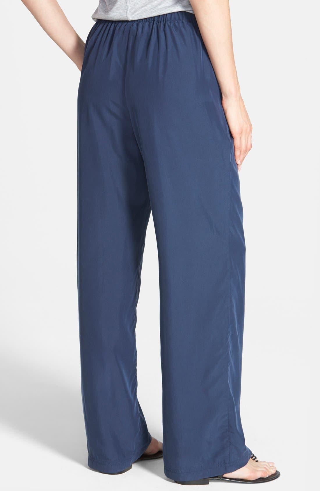 Alternate Image 2  - Vince Camuto Wide Leg Drawstring Pants