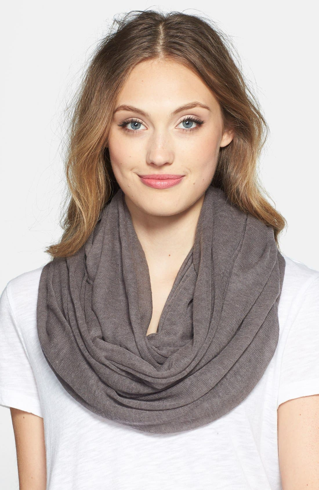 Main Image - Halogen® 'Whisper' Cashmere Infinity Scarf