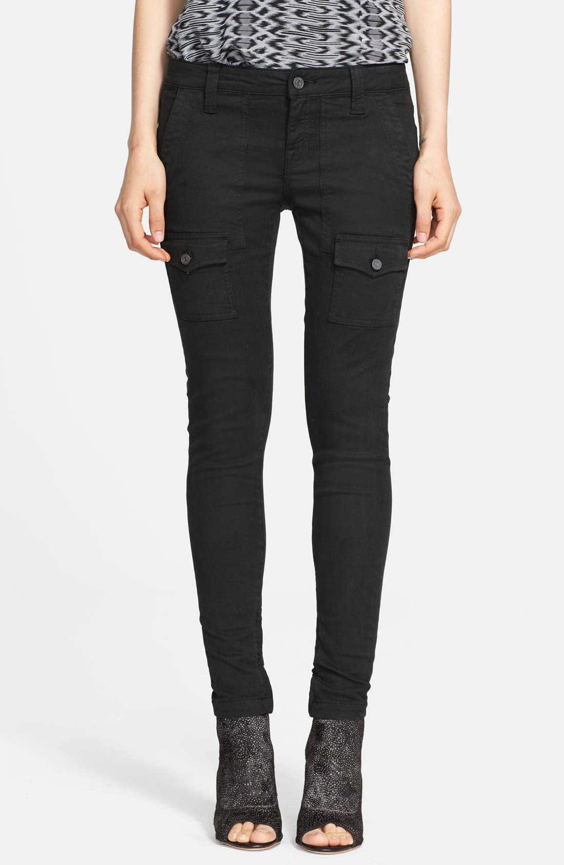 Alternate Image 1 Selected - Joie 'So Real' Cargo Stretch Skinny Jeans