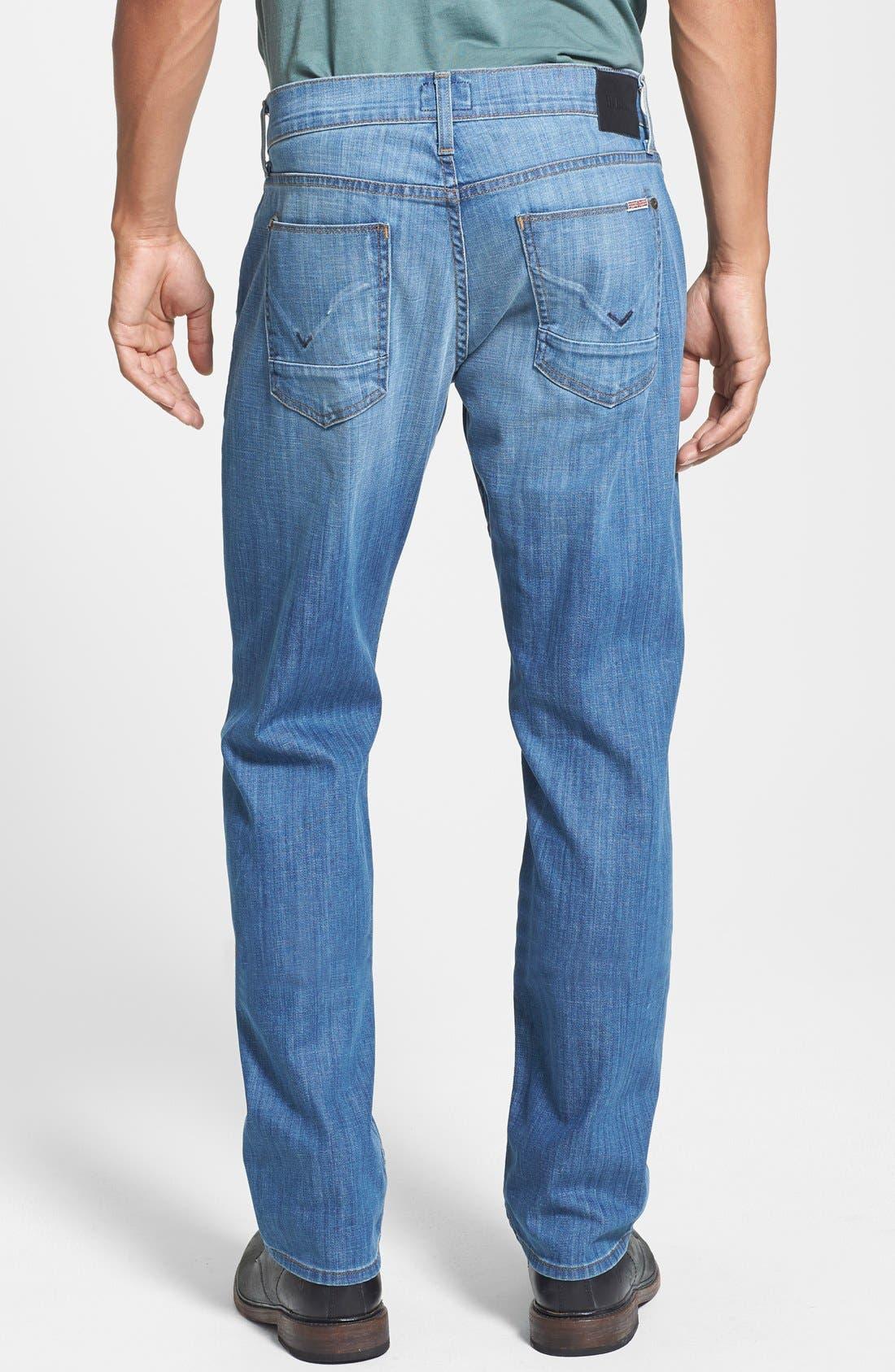 Alternate Image 2  - Hudson Jeans 'Byron' Straight Leg Jeans (Comrade)
