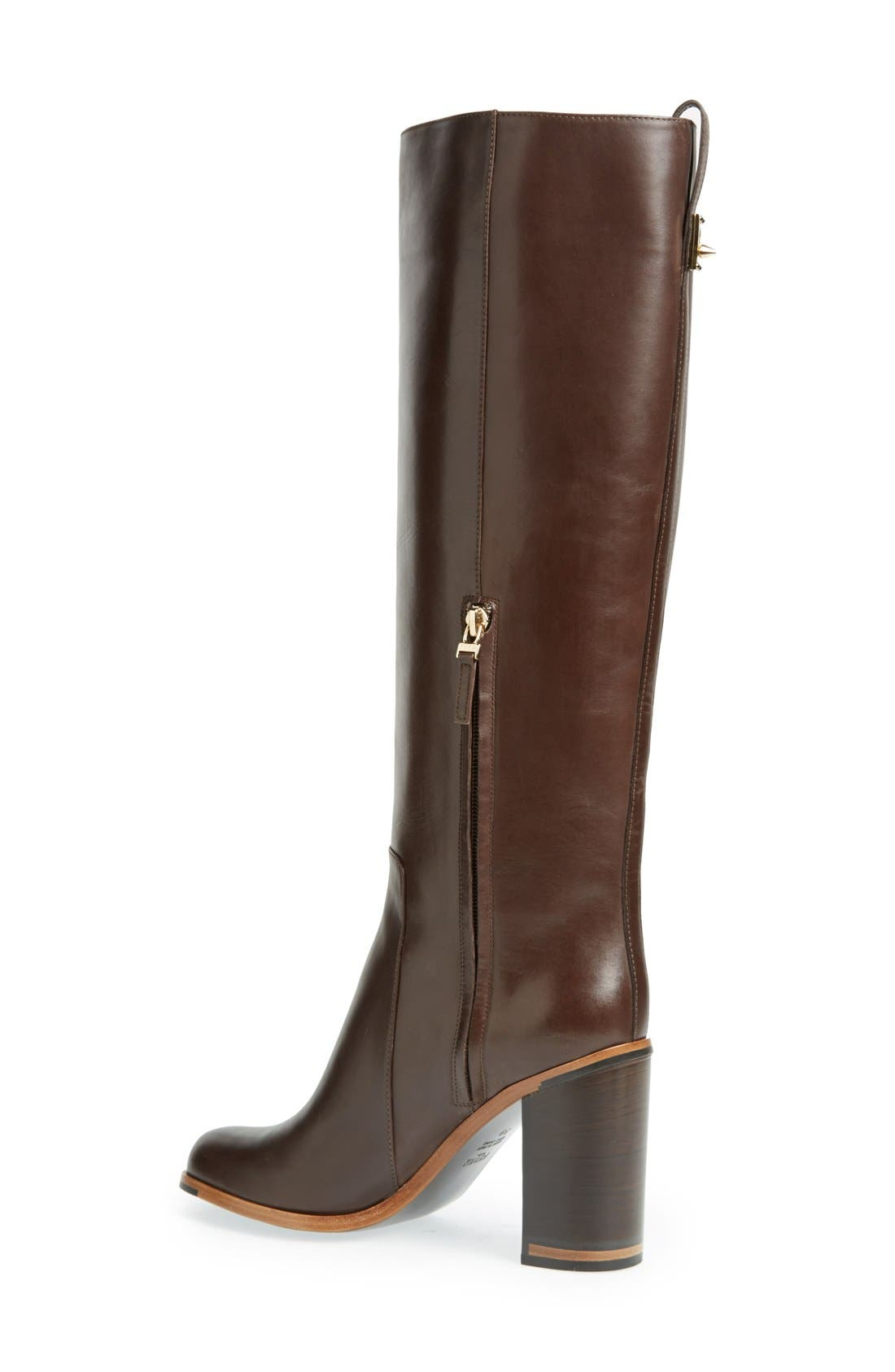 Alternate Image 2  - Fendi 'Goldmine' Knee High Boot (Women)