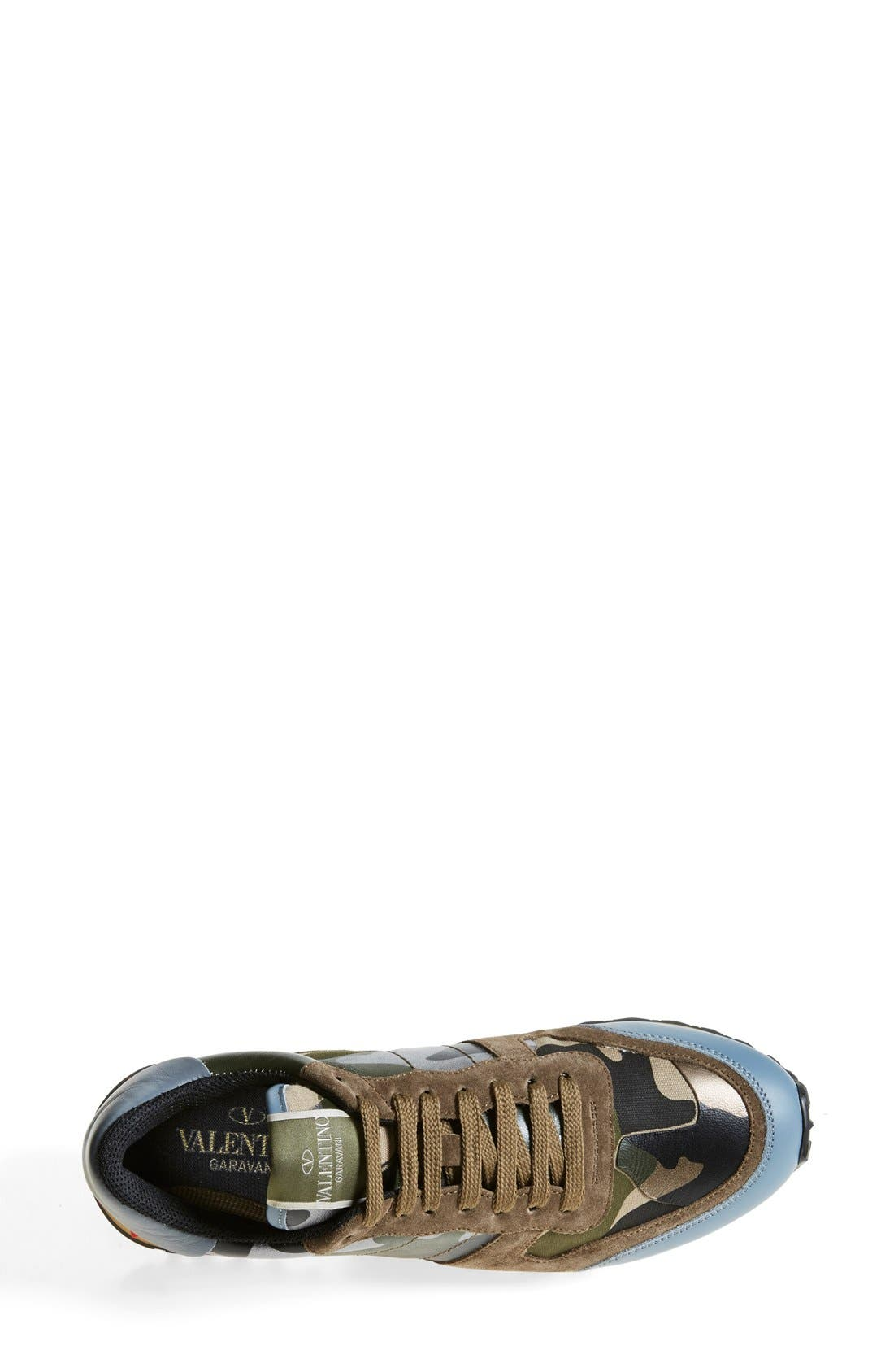 Alternate Image 3  - VALENTINO GARAVANI Camouflage Sneaker (Women)