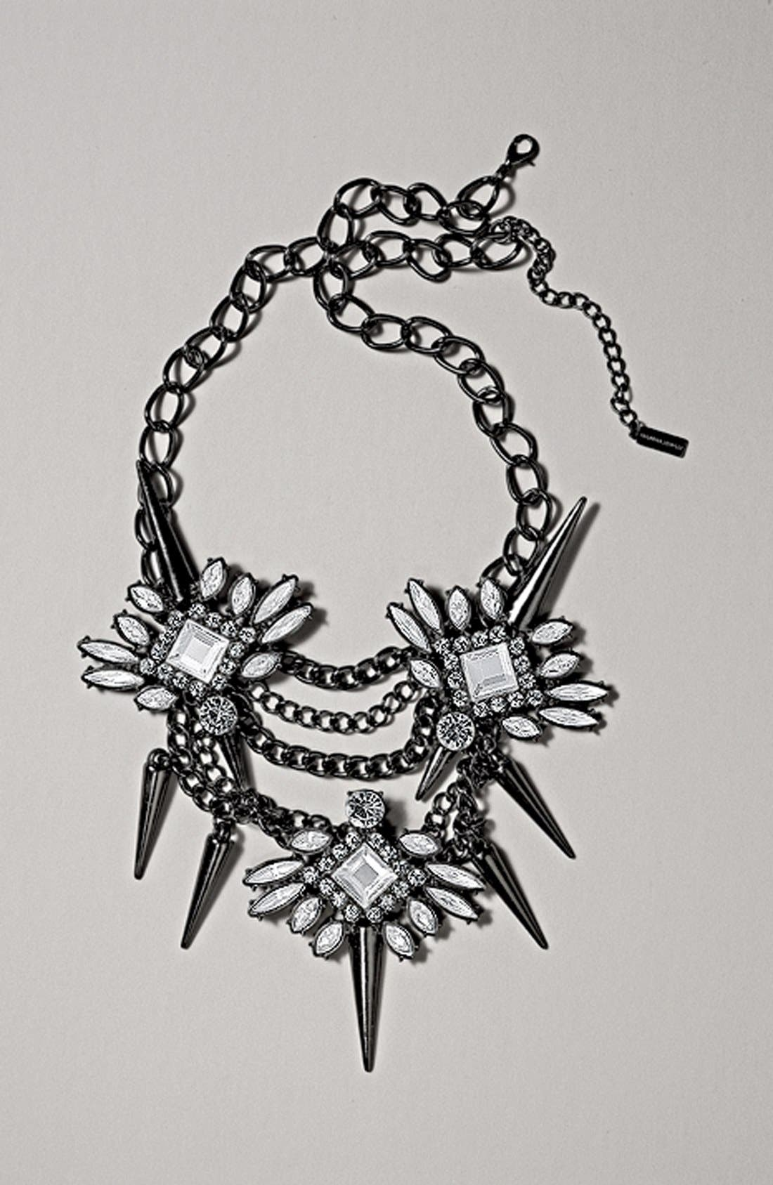 Alternate Image 4  - BaubleBar 'Spiked Lily' Frontal Necklace