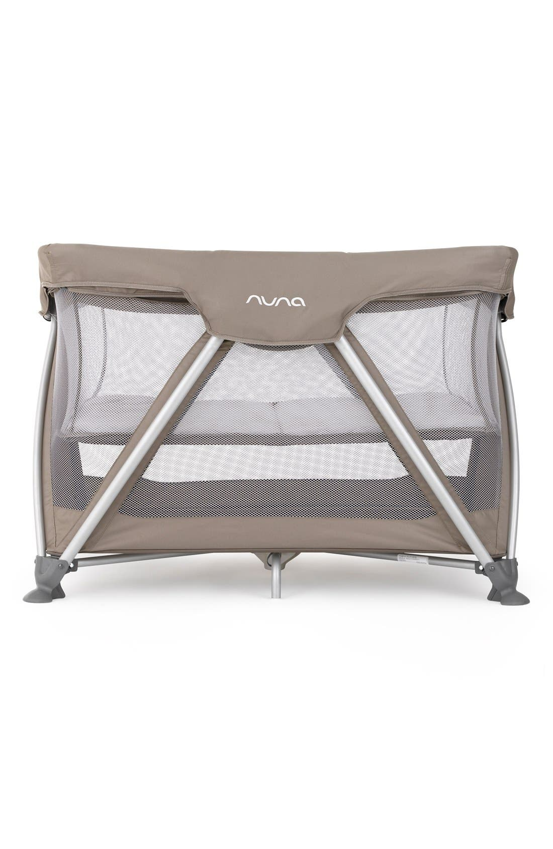 'SENA<sup>™</sup>' Travel Crib,                         Main,                         color, Safari