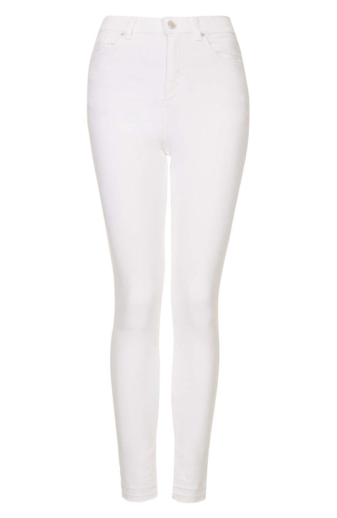 Alternate Image 3  - Topshop Moto 'Jamie' Skinny Jeans (Regular & Short)