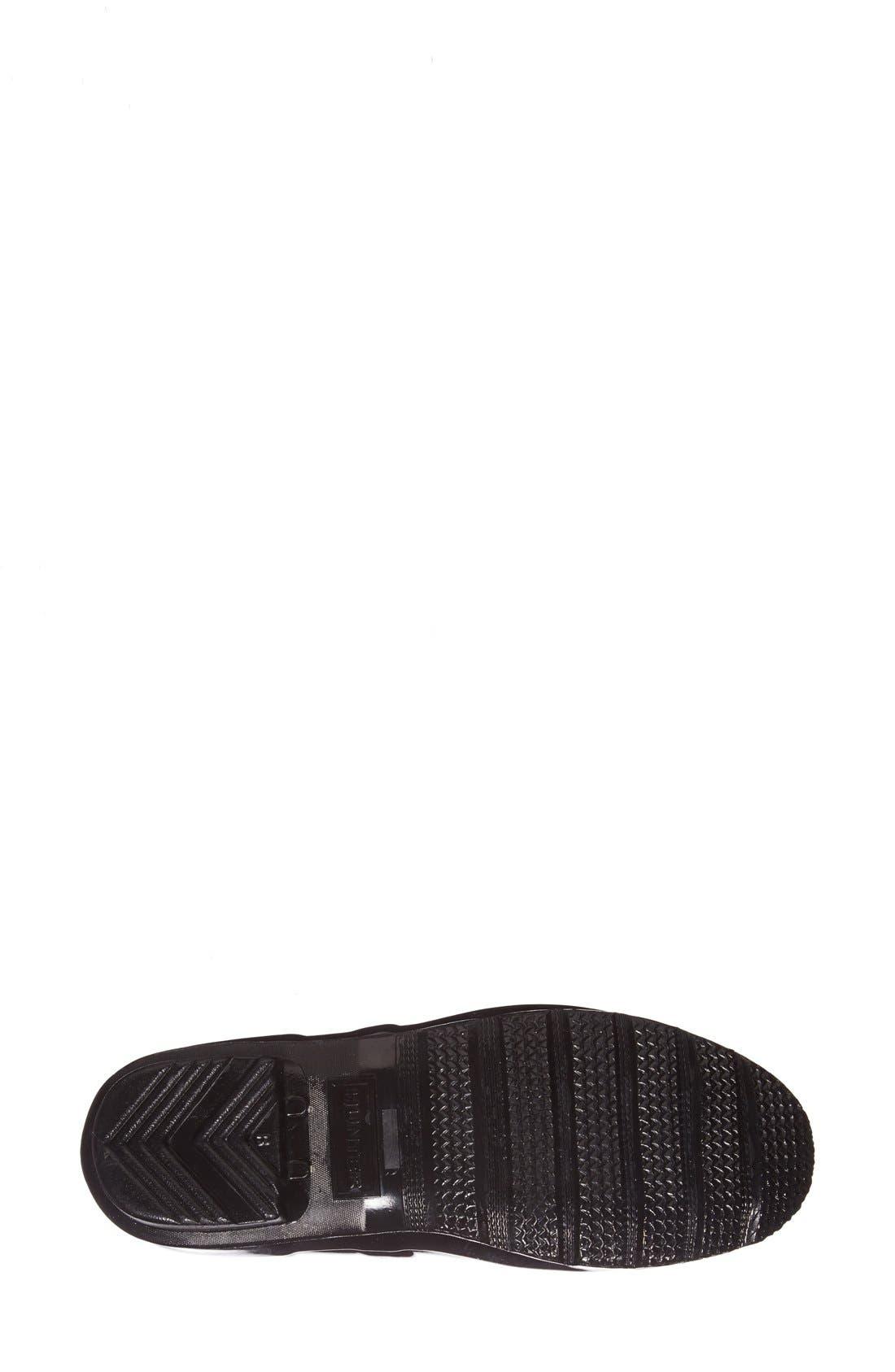 Alternate Image 7  - Hunter Adjustable Back Gloss Rain Boot (Women)