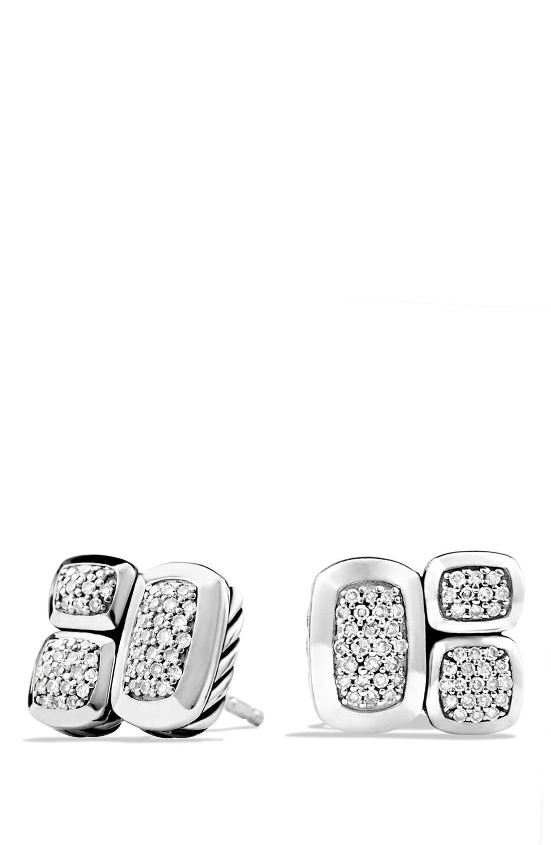 David Yurman 'Confetti' Stud Earrings with Diamonds