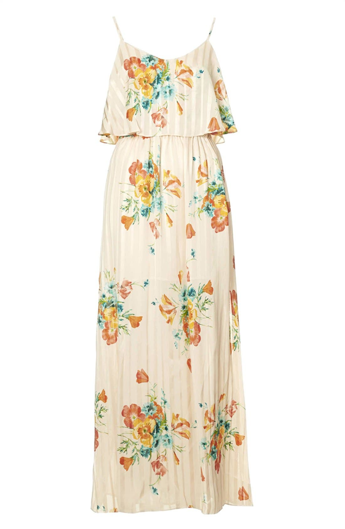 Alternate Image 3  - Topshop Floral Maxi Dress