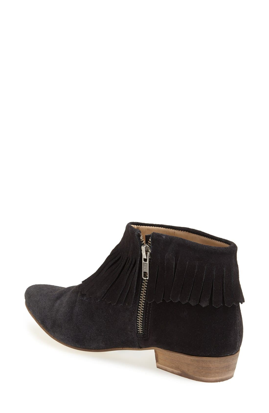 Alternate Image 2  - Topshop 'Blinked' Fringe Ankle Boot (Women)