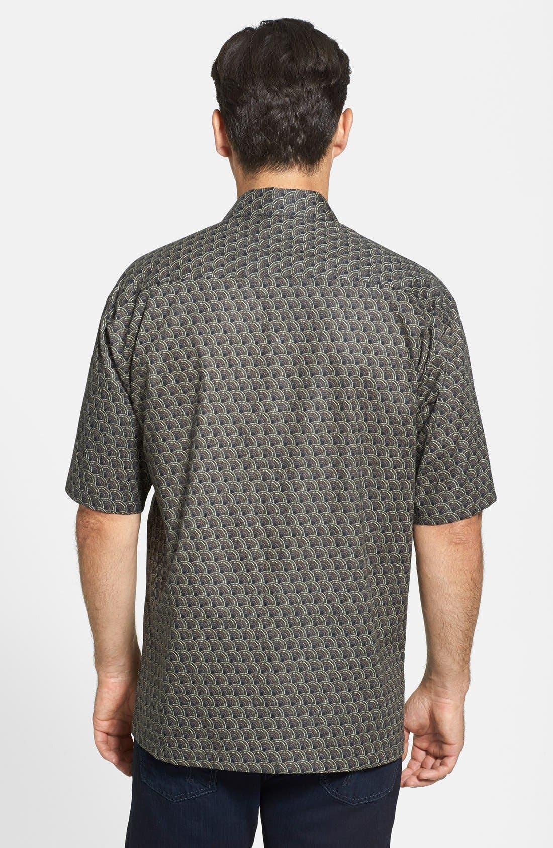 Alternate Image 2  - Tori Richard 'Deco' Classic Fit Short Sleeve Cotton Lawn Sport Shirt