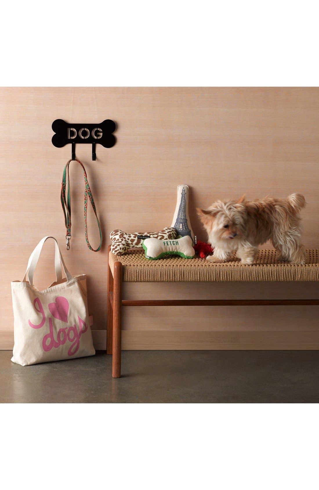 Alternate Image 2  - Harry Barker 'Fetch' Small Canvas Bone Dog Toy