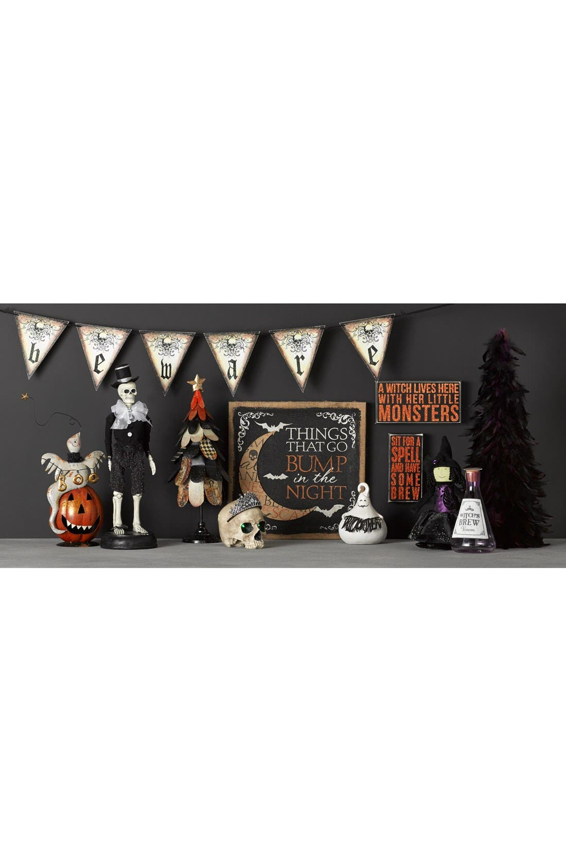 Alternate Image 2  - Primitives by Kathy 'A Witch Lives Here With Her Little Monsters' Box Sign