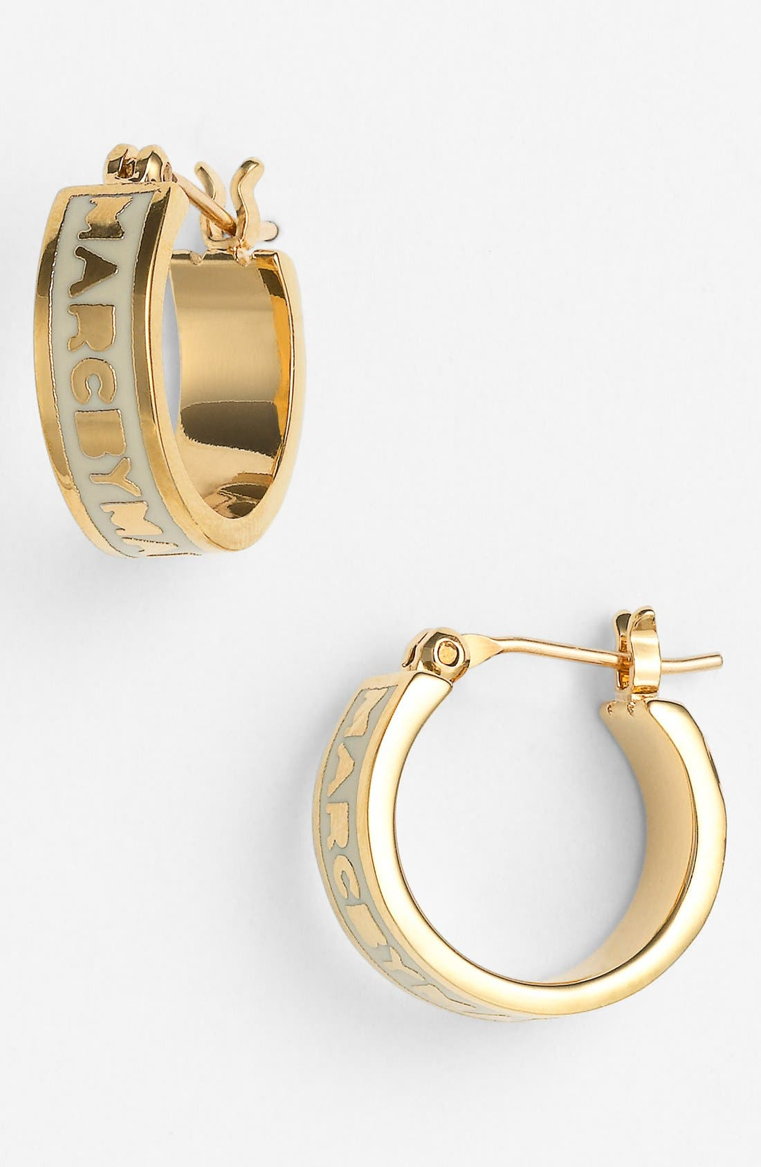 Alternate Image 1 Selected - MARC BY MARC JACOBS 'Classic Marc' Hoop Earrings