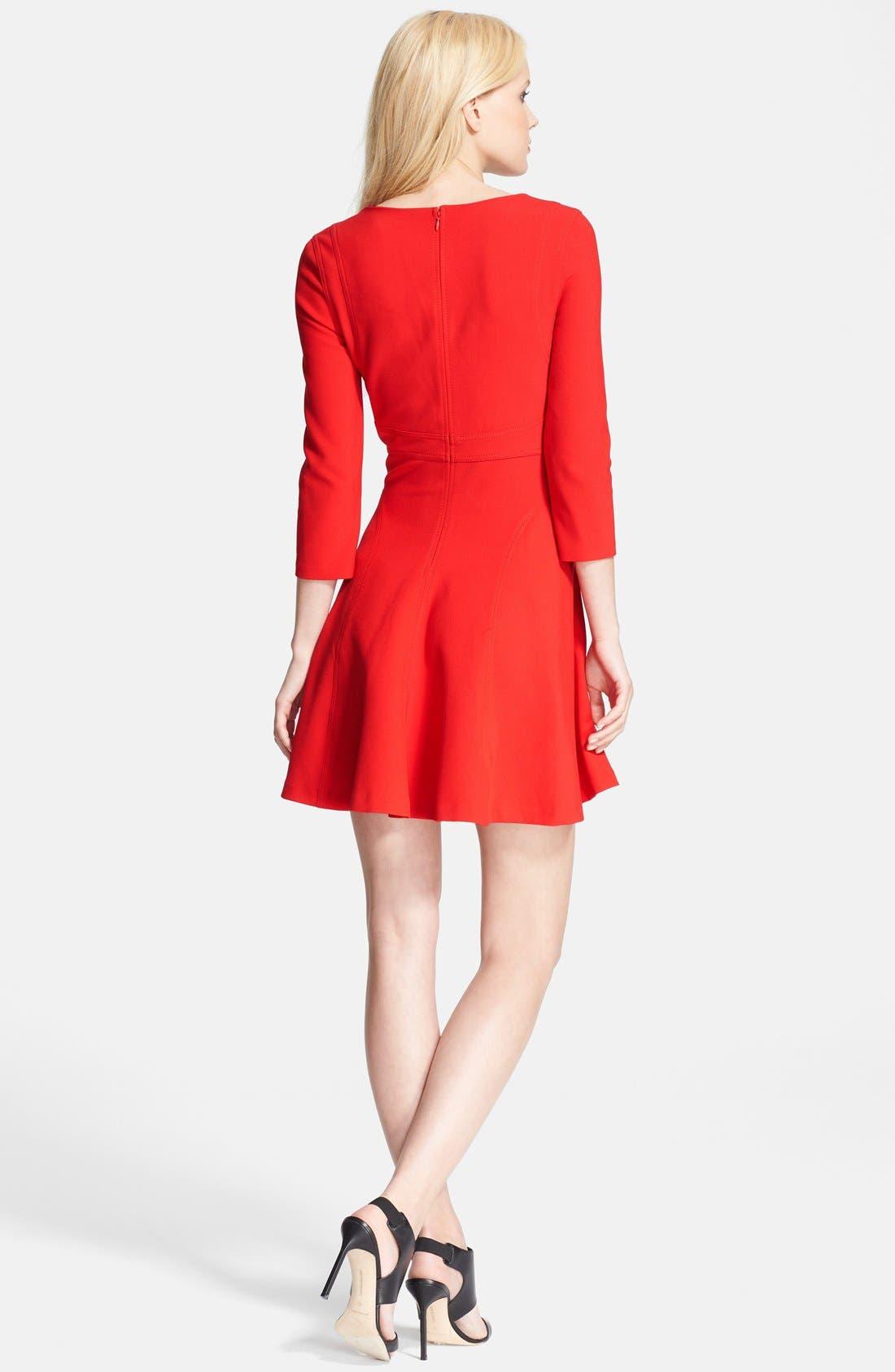 Alternate Image 2  - Diane von Furstenberg 'Paloma' Woven Fit & Flare Dress