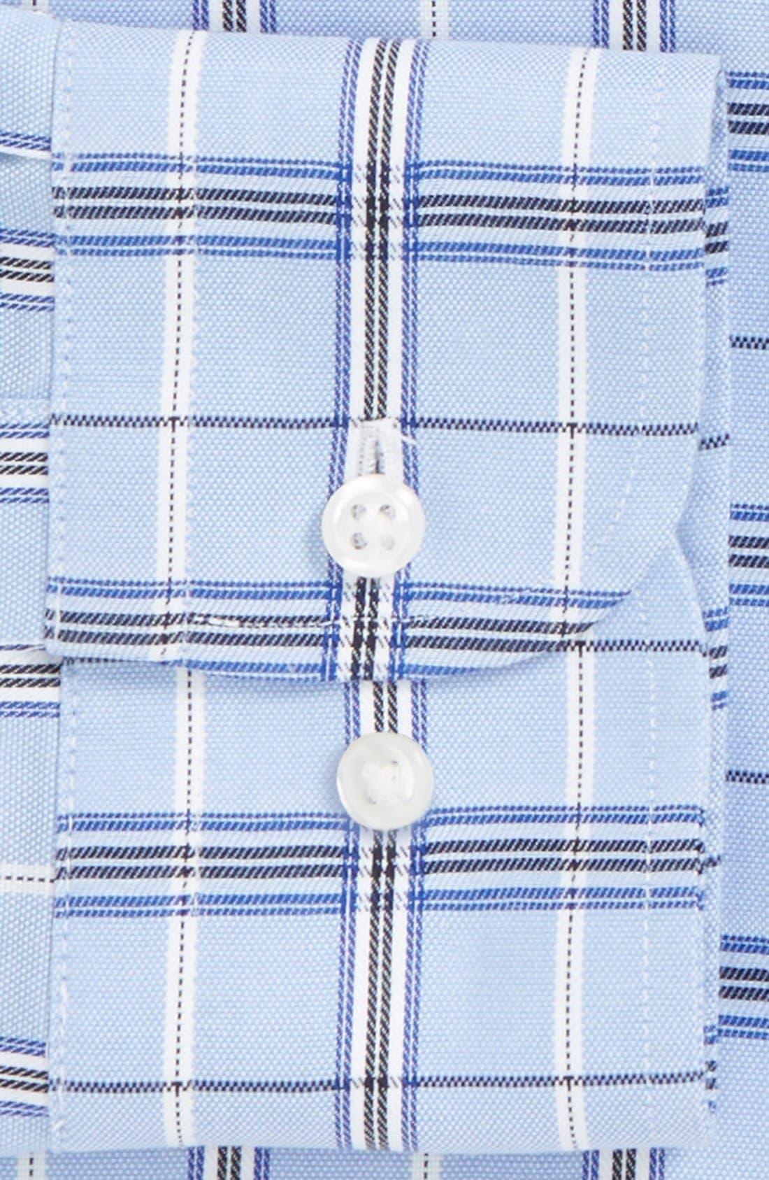 Alternate Image 2  - Nordstrom Smartcare™ Trim Fit Plaid Dress Shirt