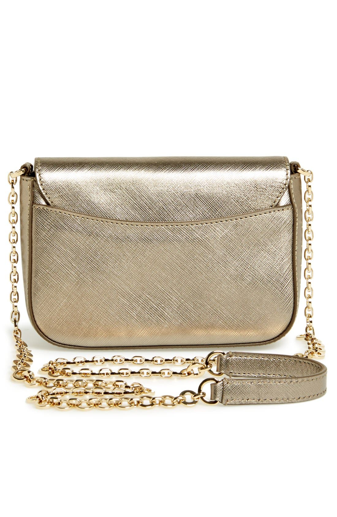 Alternate Image 4  - Salvatore Ferragamo 'Paris Chain' Saffiano Leather Shoulder Bag