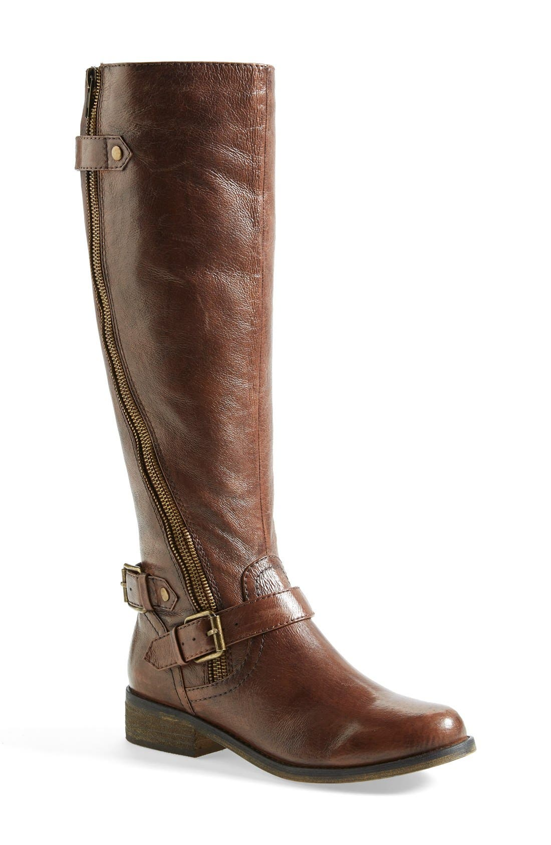 Alternate Image 1 Selected - Steve Madden 'Synicle' Riding Boot (Wide Calf) (Women)