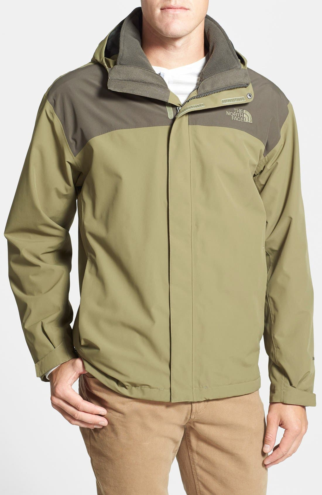 Alternate Image 1 Selected - The North Face 'Anden' TriClimate® Hooded 3-in-1 Jacket