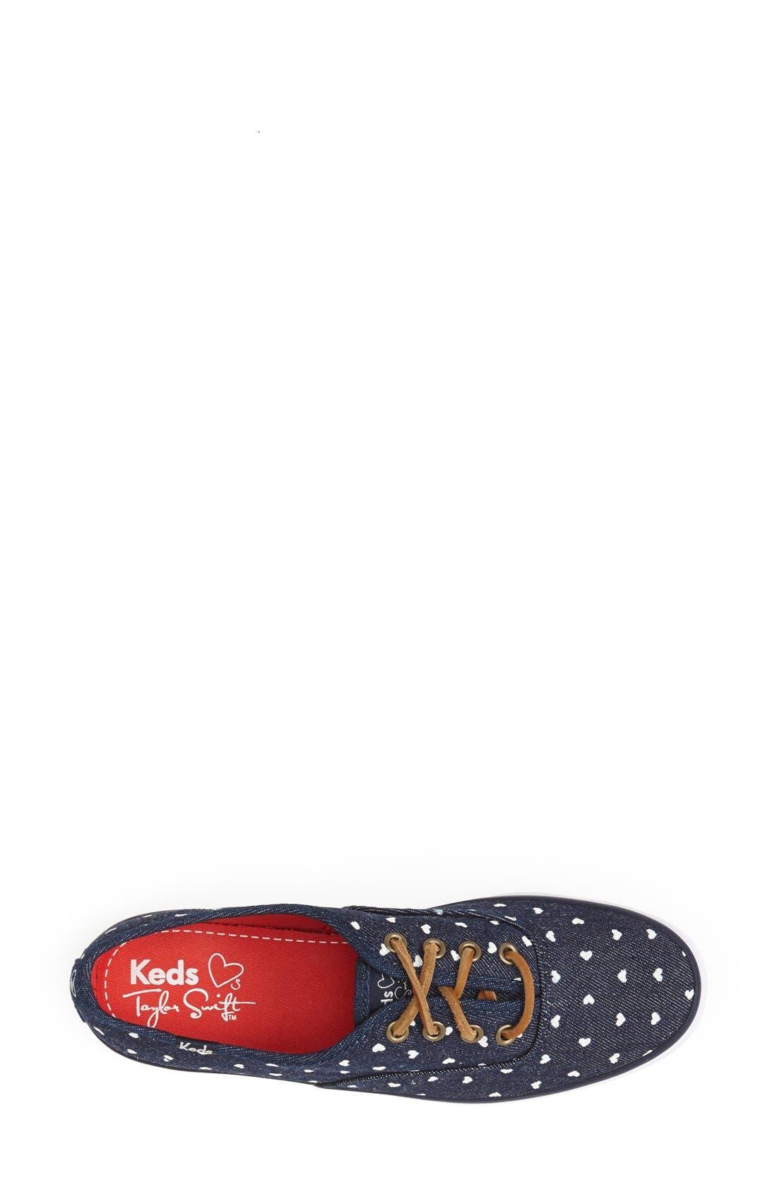 Alternate Image 3  - Keds® Taylor Swift 'Bleach Heart' Sneaker (Women)
